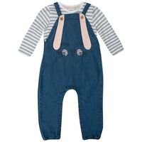 Baby Girls Delilah Dungi Set -  midblue