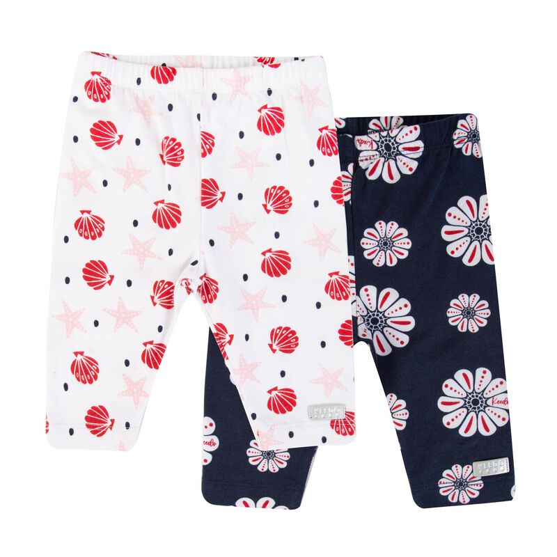 Baby Girls Azalea 2-Pack Leggings -  navy