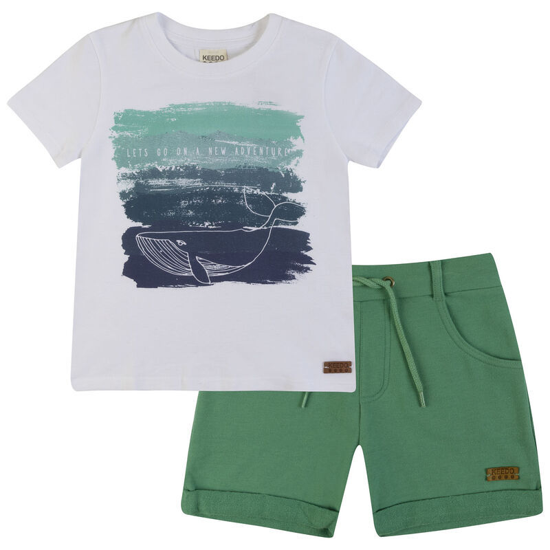 Boys Russell Set -  white