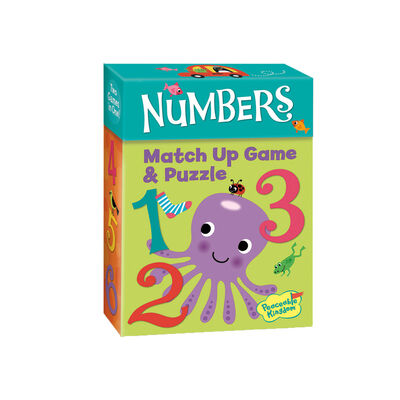 Numbers Match Up Game & Puzzle