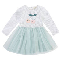 Baby Girls Evie Dress  -  blue
