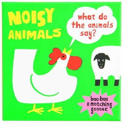 Noisy Animals (A Matching Game)