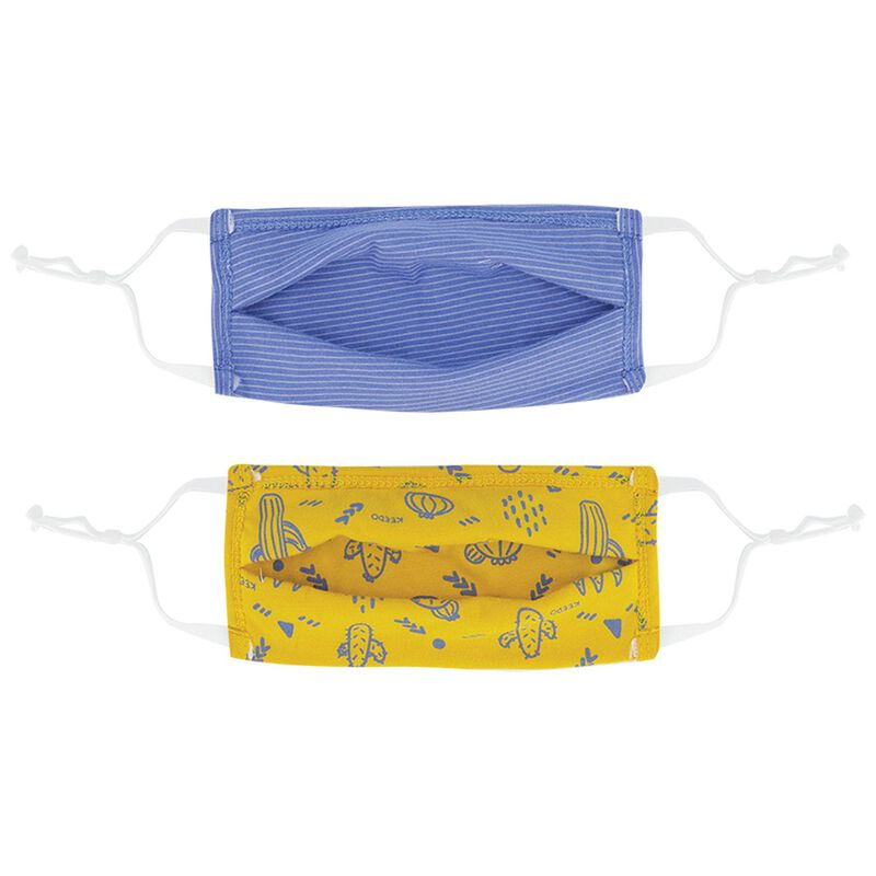 Boys Keedmask 2-Pack Toggle Masks  -  dc9900