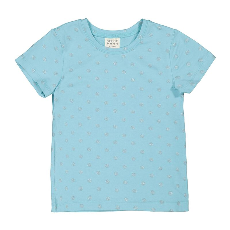 Girls 2-Pack Aqua Tees -  assorted