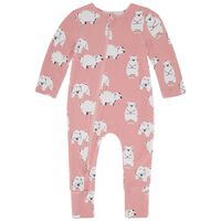 Baby Girls Lily PJ Zippy Grow -  c35
