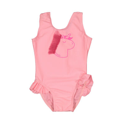 Baby Girls Frilly Swimsuit