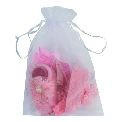 Baby Girls Socks & Headband