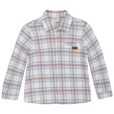 Boys Hudson Check Shirt