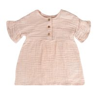 Baby Girls Donna Muslin Dress -  palepink