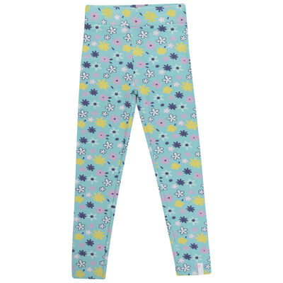 Girls Daisy Leggings