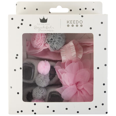 Baby Girls Hailey Decor Socks & Headbands