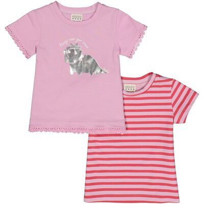 Baby Girls Ruby 2-Pack Tees