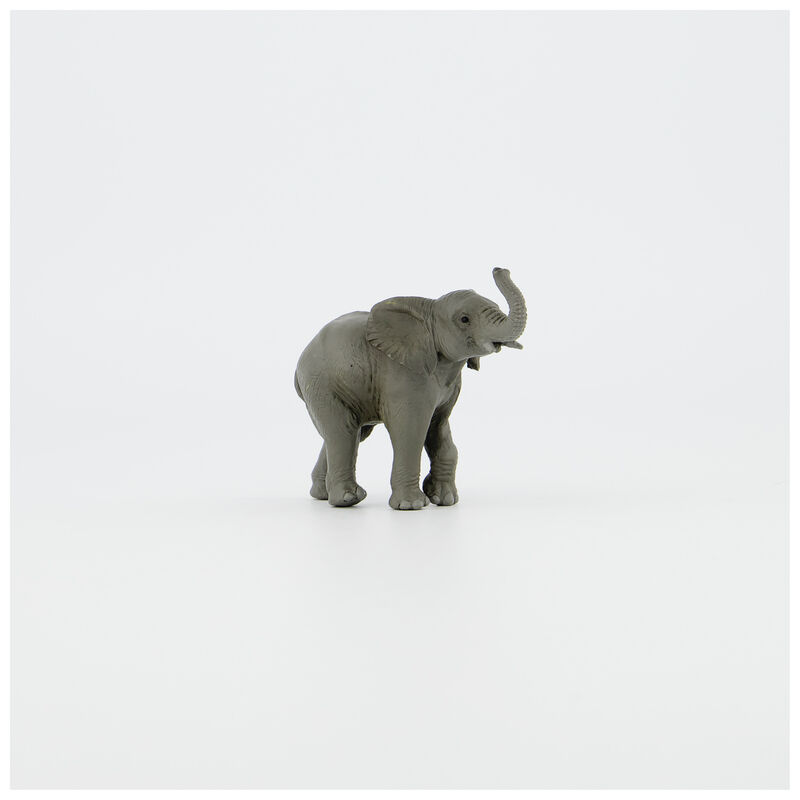 Baby Elephant Toy -  red
