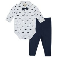 Baby Boys Reuben Classic Grow Set -  white