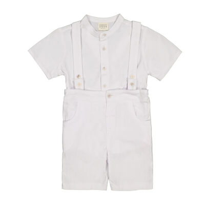 Boys White Smart Set
