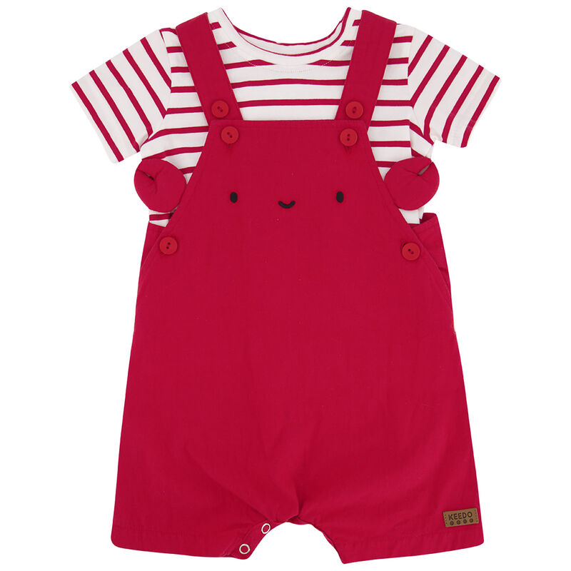 Baby Boys Seb Crab Set -  tomato