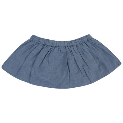 Baby Girls Savanna Denim Bloomer Skirt