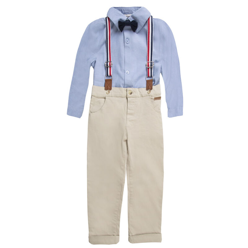 Boys Mitchell Smart Set  -  lightblue