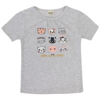 Girls Emma Tee -  salmon