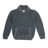 Baby Boys Elliot Cardigan -  grey
