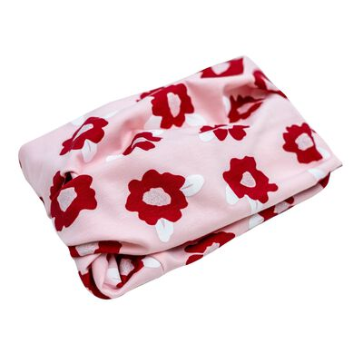 Girls Keedmask Rose Tubular Scarf