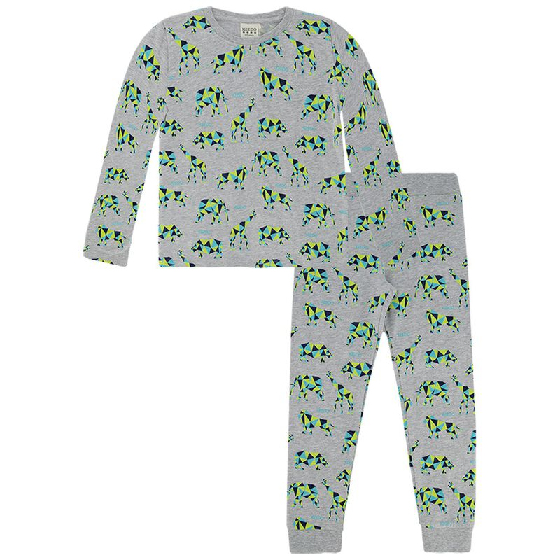 Boys Matt Sleep Set -  silvergrey