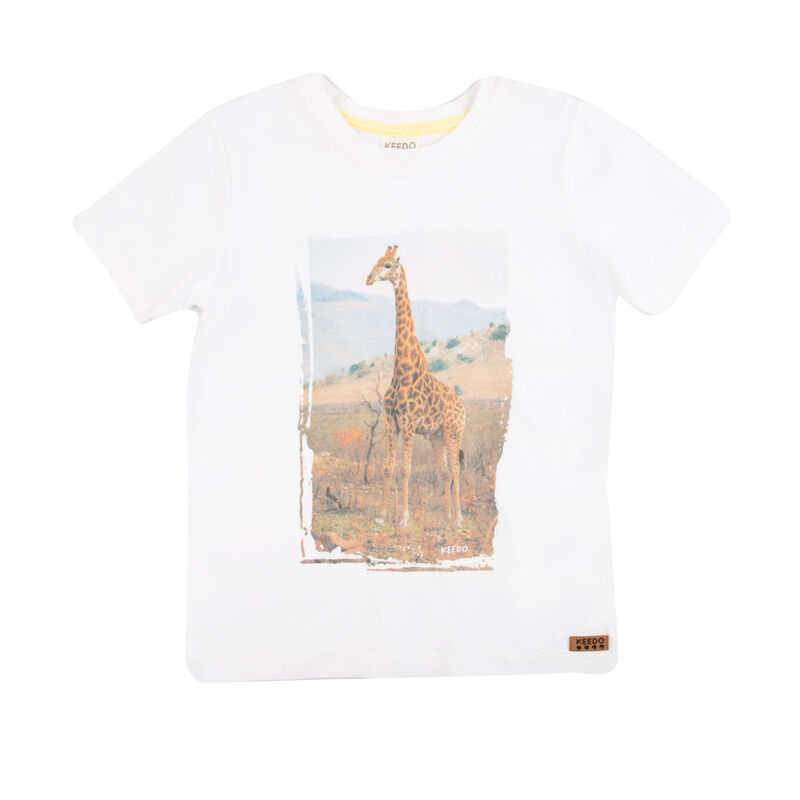Boys Tom Tee -  white