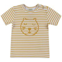 Babies Parker Ribbed Tee -  yellow