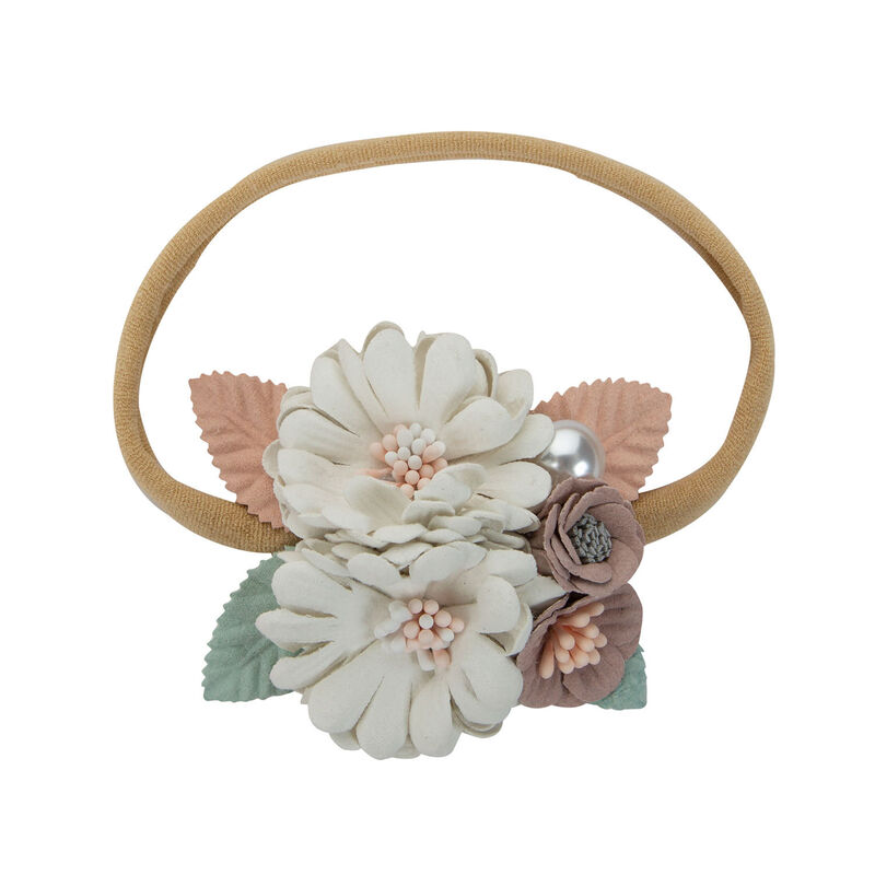 Girls Avery Headband -  white