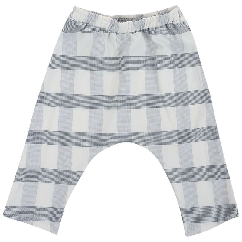 Baby Boys Charlie Check Set -  white