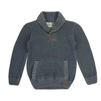 Boys Elliot Cardigan -  grey