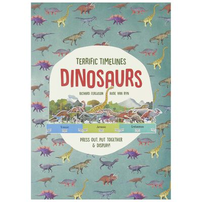 Terrific Timelines: Dinosaurs Book