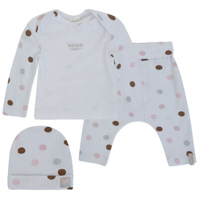 Baby Girls Angie Dot Set