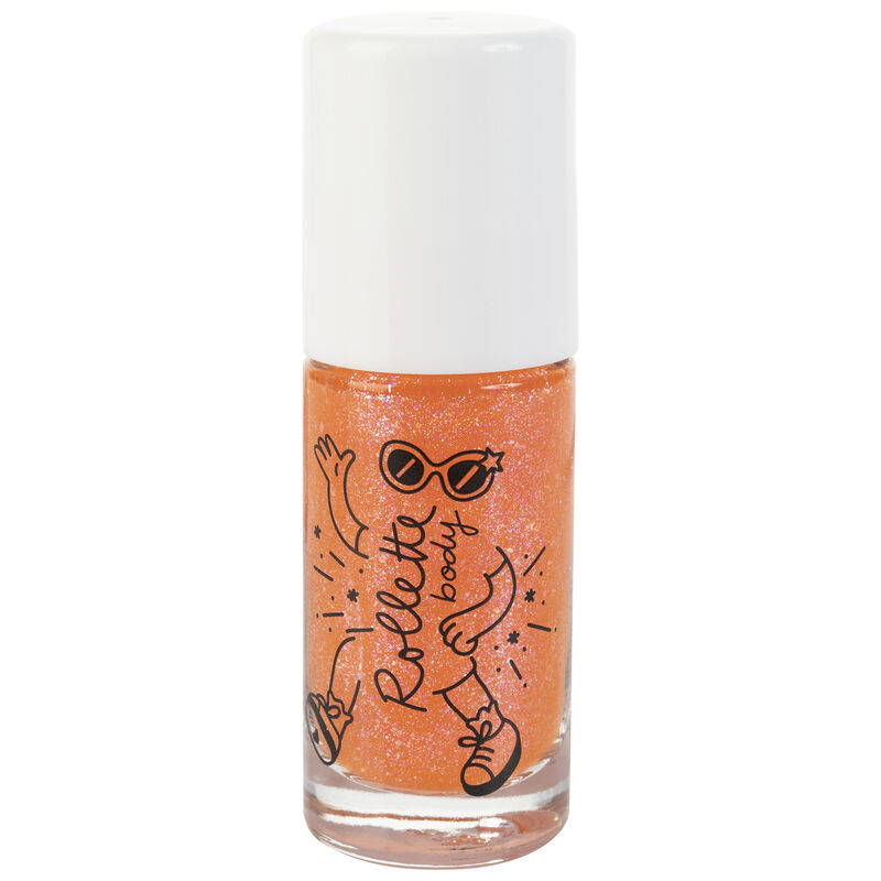 Peach Body Glitter Rolette -  orange