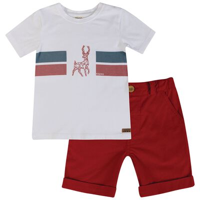 Boys Reece Holiday Set