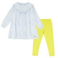 Girls Checkered Heart Set -  dc5500