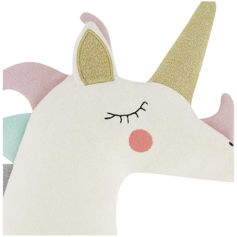 Unicorn Toy on a Stick -  white