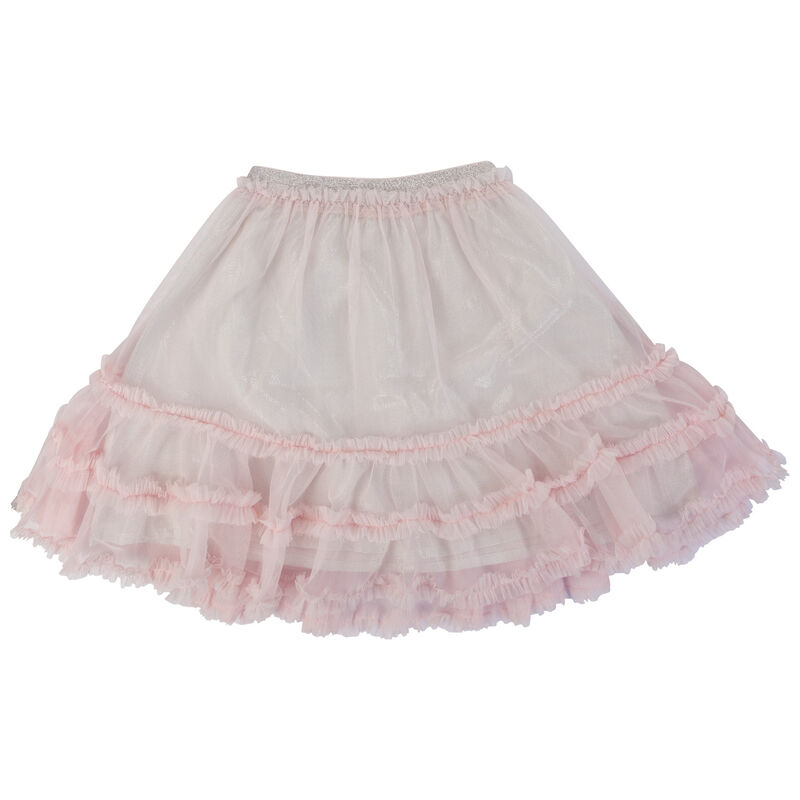 Girls Connie Tulle Skirt -  palepink