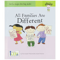All Families Are Different Book -  nocolour