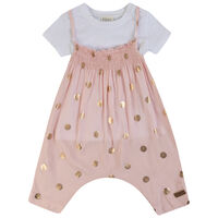 Baby Girls Jorja Glitzy Set  -  lightpink