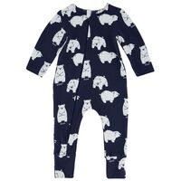 Baby Boys Benji PJ Zippy Grow -  c57