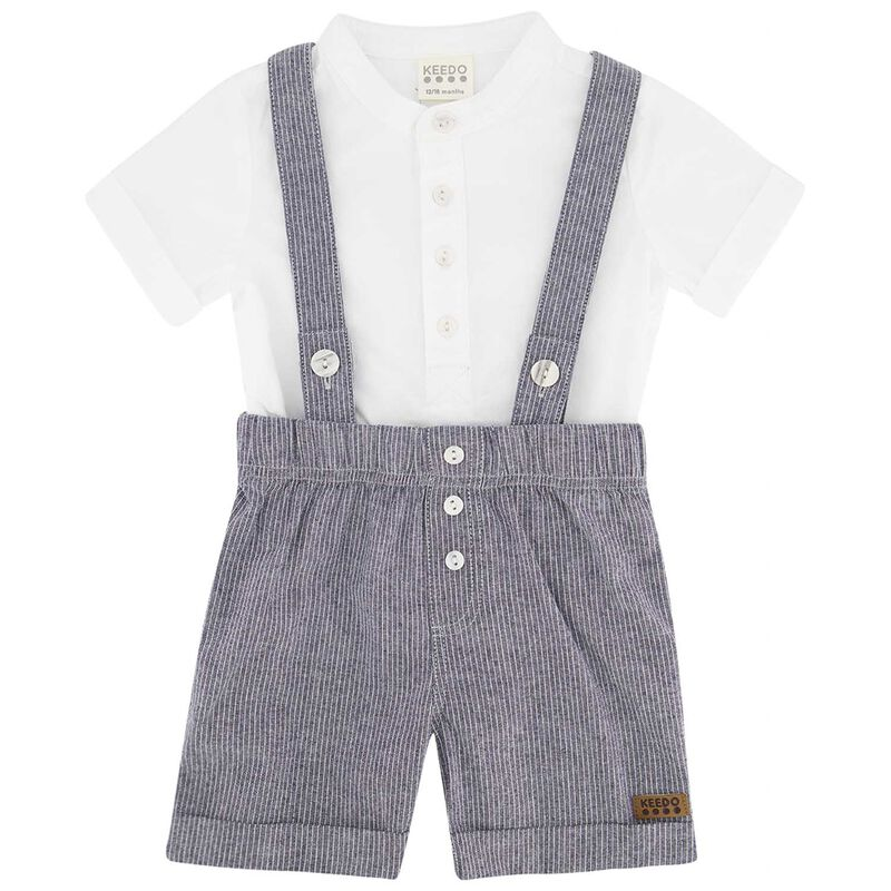 Baby Boys Henry Smart Set -  navy