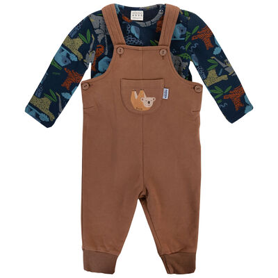 Baby Boys Clay Dungi Set