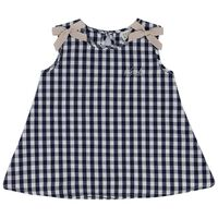 Baby Girls Billie Bow Set  -  navy