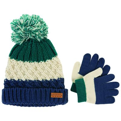Baby Boys David Beanie & Glove Set