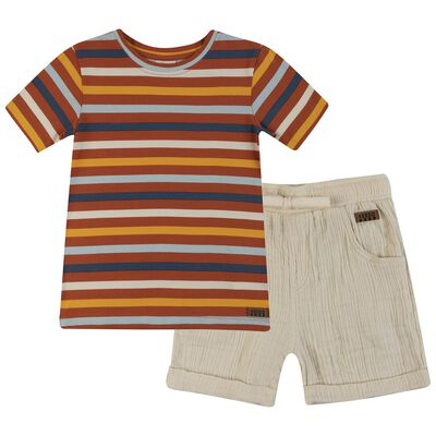 Boys Simon Stripe Set