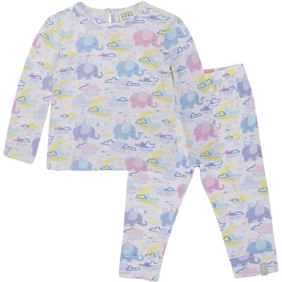 Girls Paisley Sleep Set