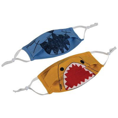 Boys Keedmask Fun Animal 2-Pack Toggle Masks