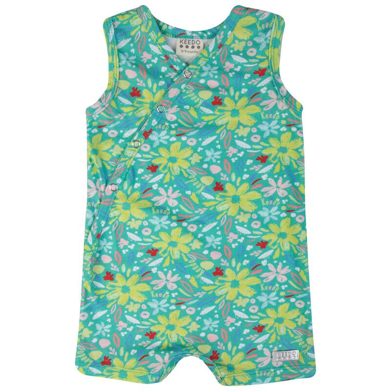 Baby Girls Nayva Grow -  teal