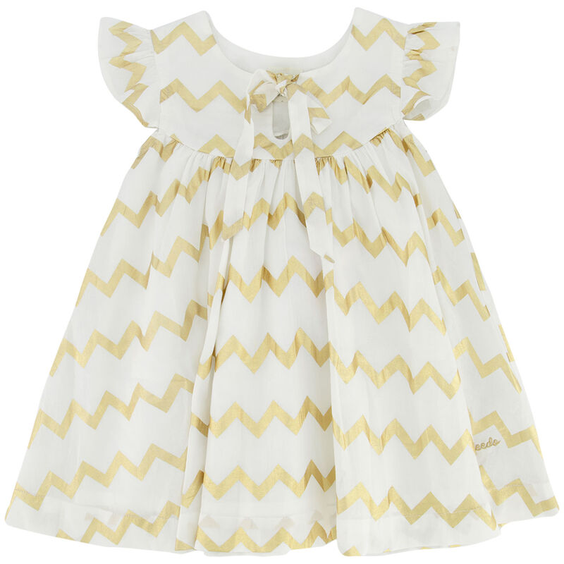 Baby Girls Dorothy Dress -  white